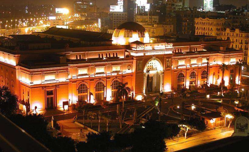 المتحف المصري ليلا