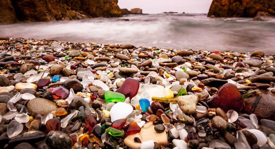 شاطئ الزجاج