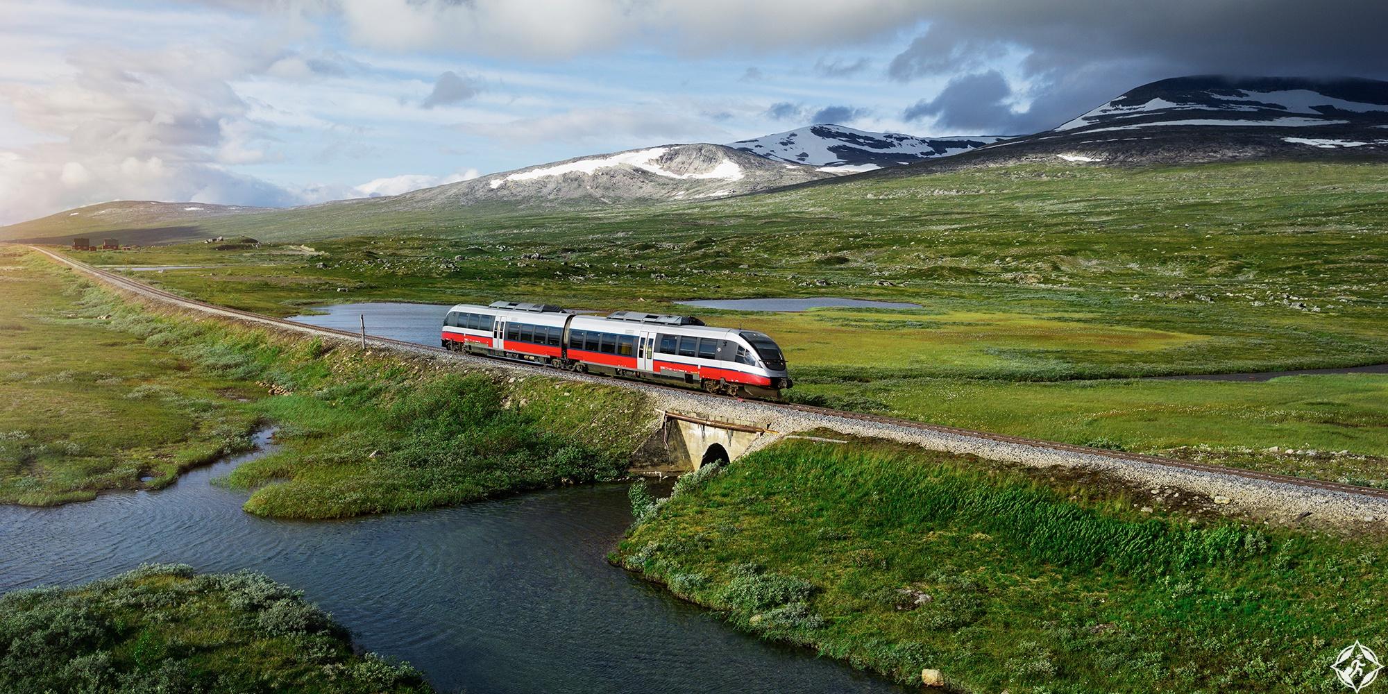قطار النرويج