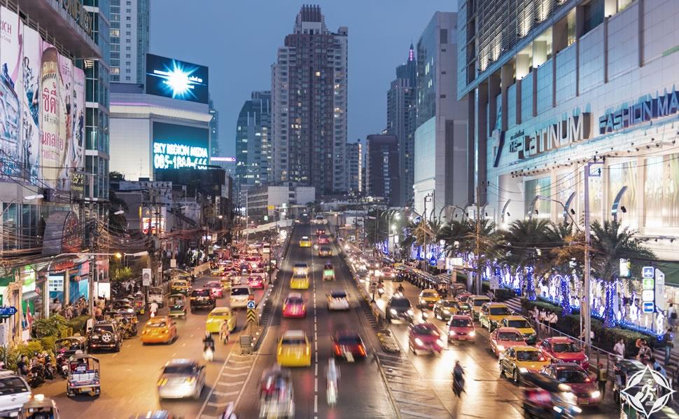 التسوق في بانكوك