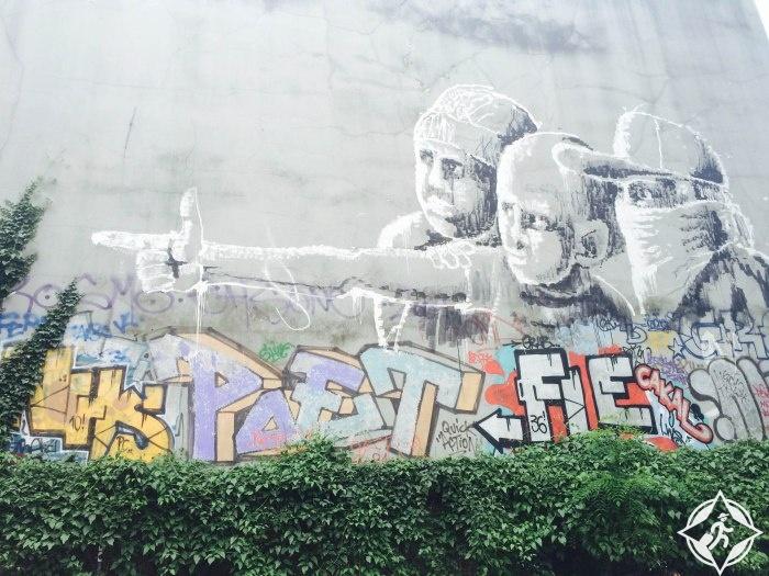 غرافيتي برلين