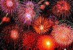 عروض الألعاب النارية تلون سماء دبي
