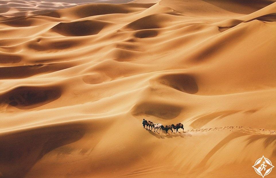 الصحراء في دونهوانغ