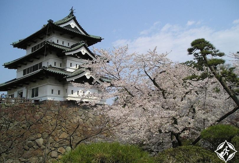 اليابان - قلعة هيروساكي - القلعة اليابانية