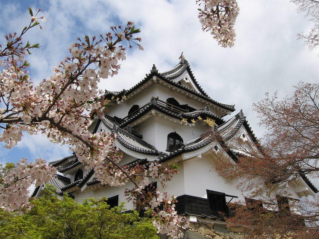 اليابان - قلعة هيكون - القلاع اليابانية