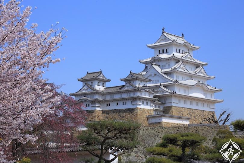 اليابان - قلعة هيميجي - القلاع في اليابان