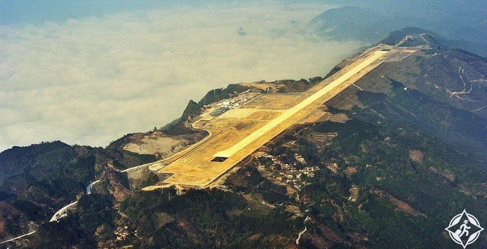 أغرب المطارات في العالم
