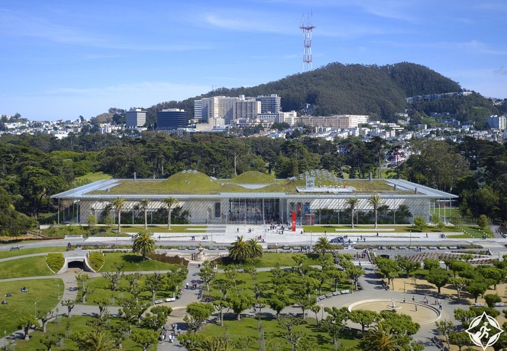 أمريكا-سان فرانسيسكو-أكاديمية كاليفورنيا للعلوم-أشهر معالم سان فرانسيسكو