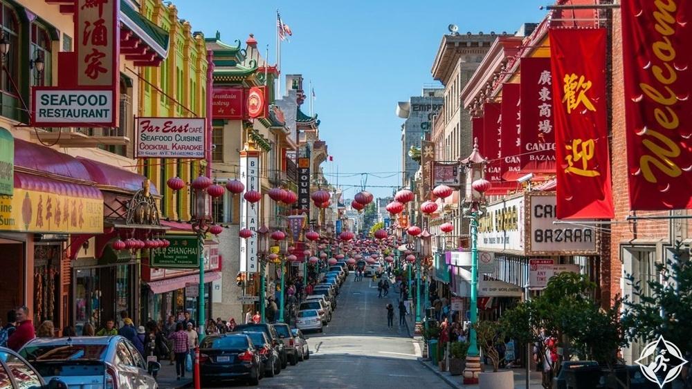 أمريكا-سان فرانسيسكو-الحي الصيني-أشهر معالم سان فرانسيسكو