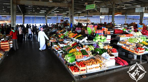الإمارات-أبوظبي-سوق الخضروات والفواكة-الأسواق التقليدية في أبوظبي