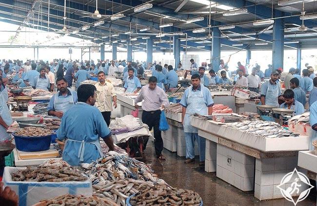 الإمارات-أبوظبي-سوق السمك-الأسواق التقليدية في أبوظبي
