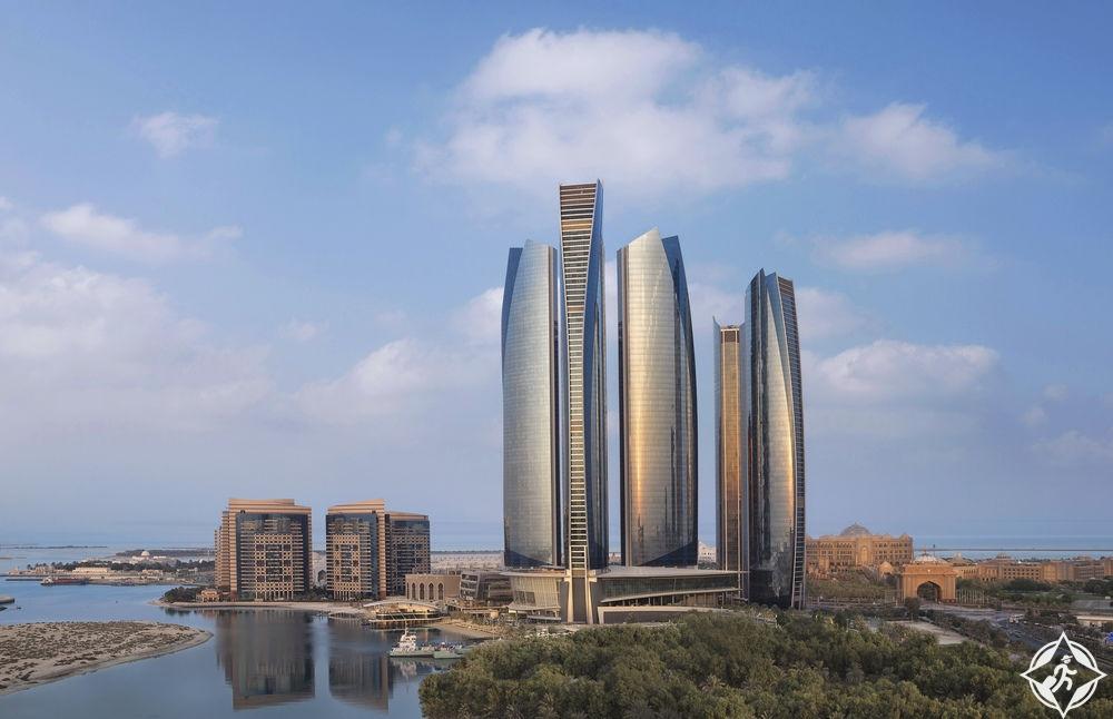الإمارات-أبوظبي-فندق جميرا في أبراج الاتحاد-أفضل فنادق خمس نجوم في أبوظبي