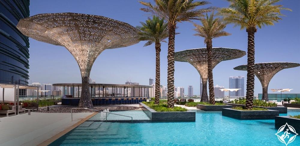 الإمارات-أبوظبي-فندق روزوود أبوظبي-أفضل فنادق خمس نجوم في أبوظبي
