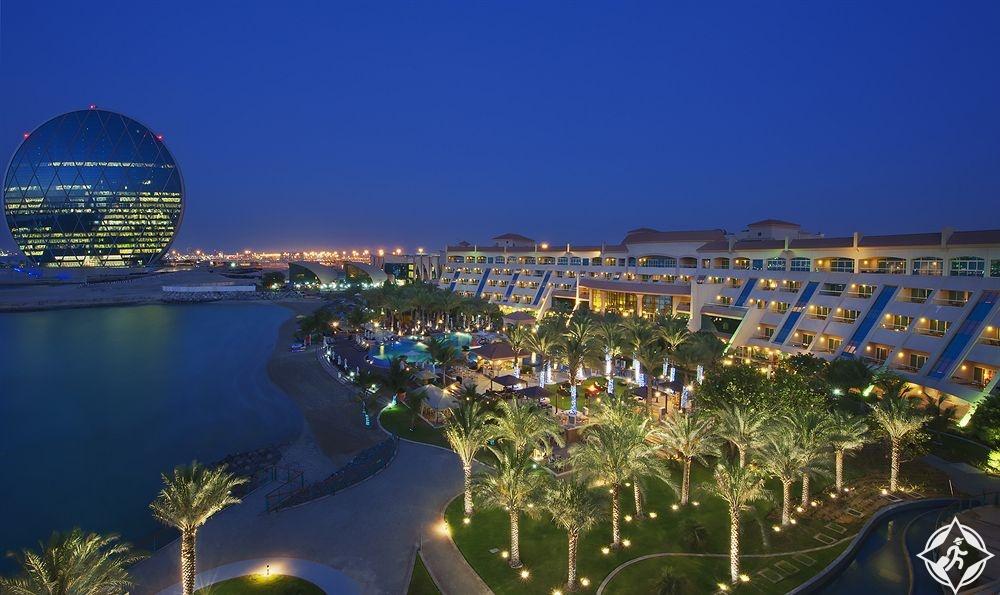 الإمارات-أبوظبي-فندق شاطئ الراحة-أفضل فنادق خمس نجوم في أبوظبي