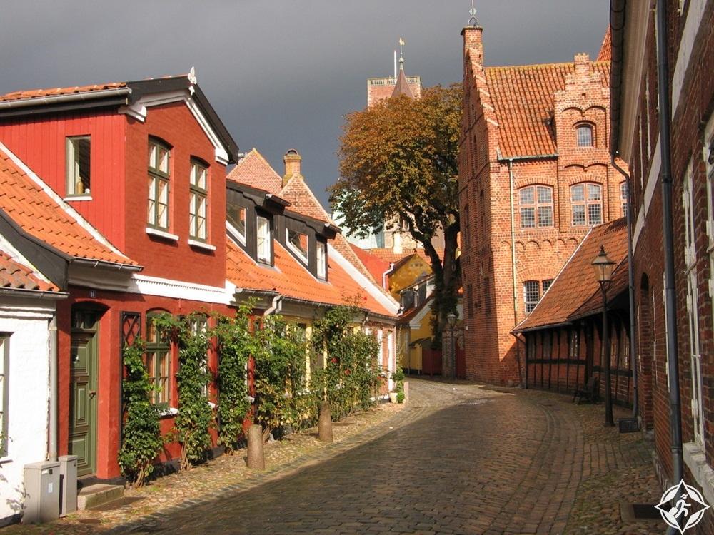 الدنمارك-ريبي-مدينة ريبي-أجمل مدن الدنمارك