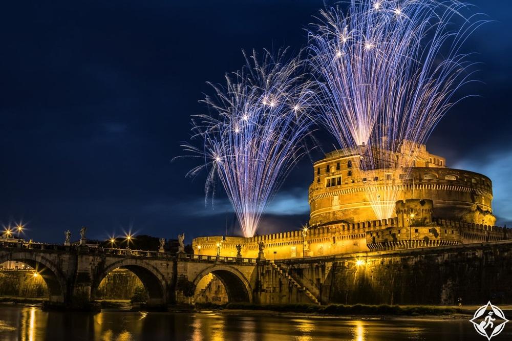 النمسا-فيينا-احتفالات رأس السنة-رأس السنة 2017