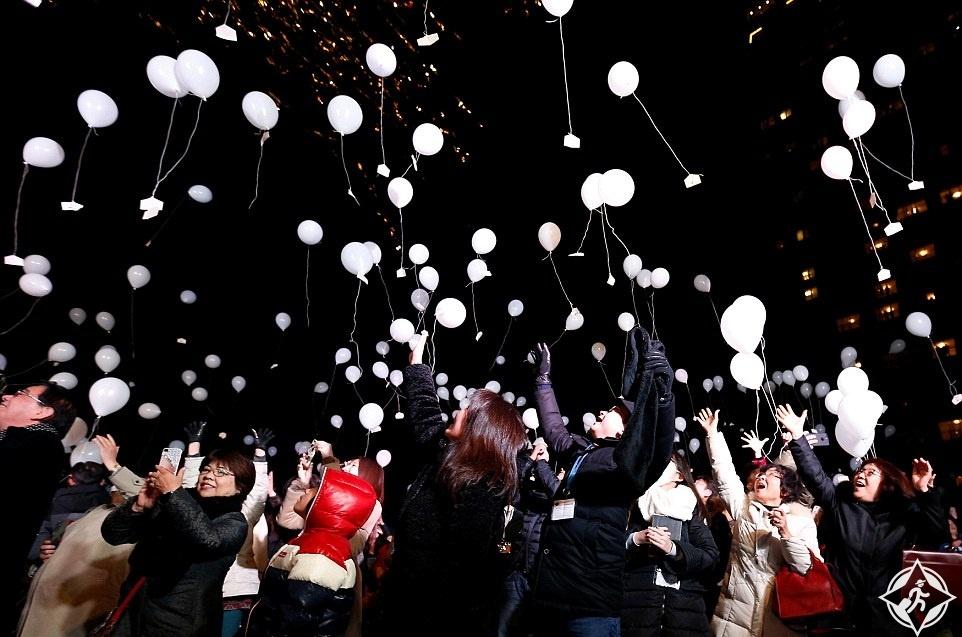 اليابان-طوكيو-احتفالات رأس السنة-العام الجديد