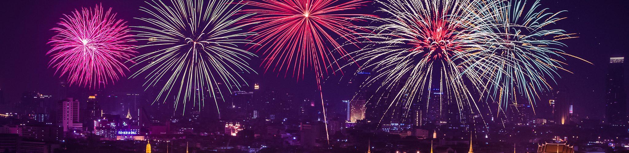 بانكوك تستقبل العام الجديد 2017