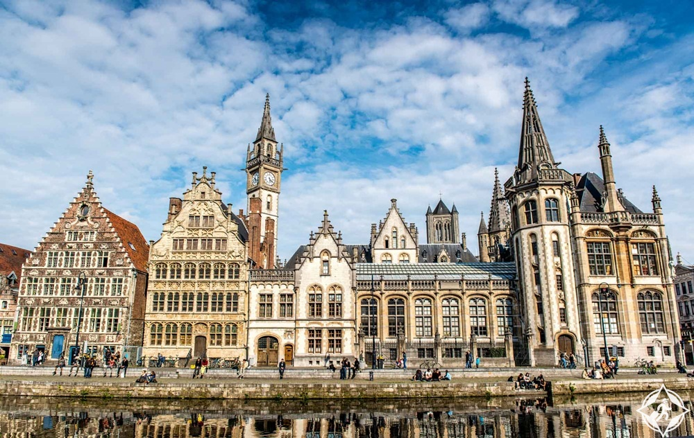 بلجيكا-بروكسل-غنت-أجمل مدن بلجيكا