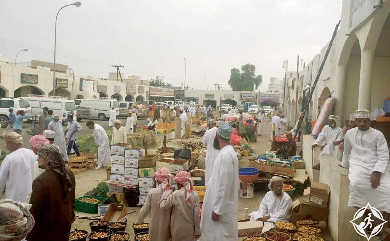 سلطنة عمان-سوق سنو-الأسواق التقليدية في عمان
