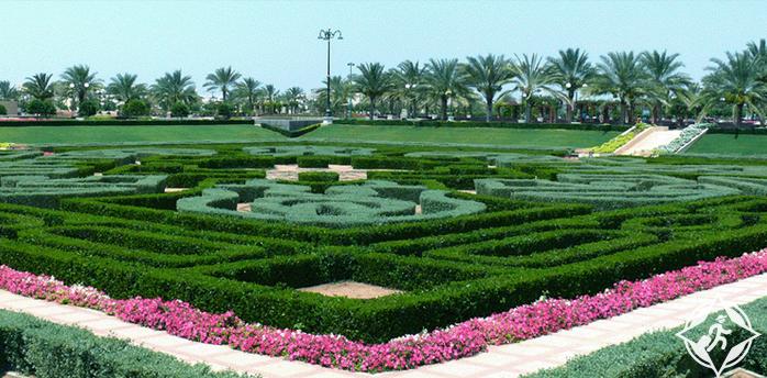 سلطنة عمان-مسقط-الحديقة اليابانية-الأماكن السياحية في مسقط