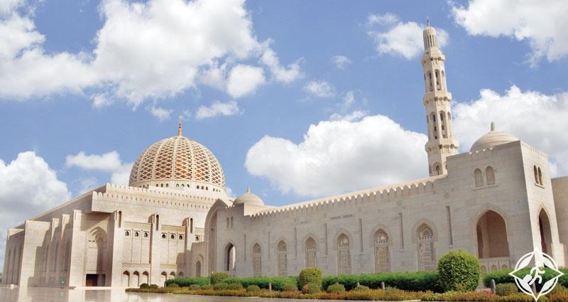 سلطنة عمان-مسقط-جامع السلطان قابوس الأكبر-الأماكن السياحية في مسقط