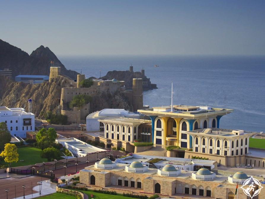 سلطنة عمان-مسقط-قصر العلم العامر-الأماكن السياحية في مسقط