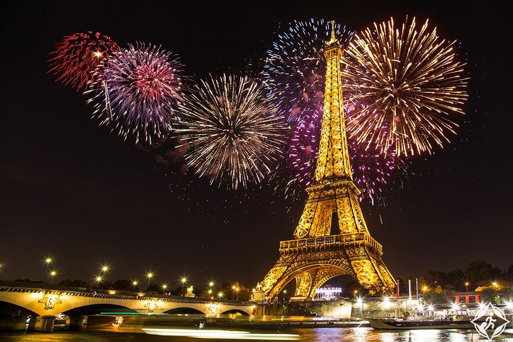 فرنسا-باريس-احتفالات رأس السنة-رأس السنة 2017