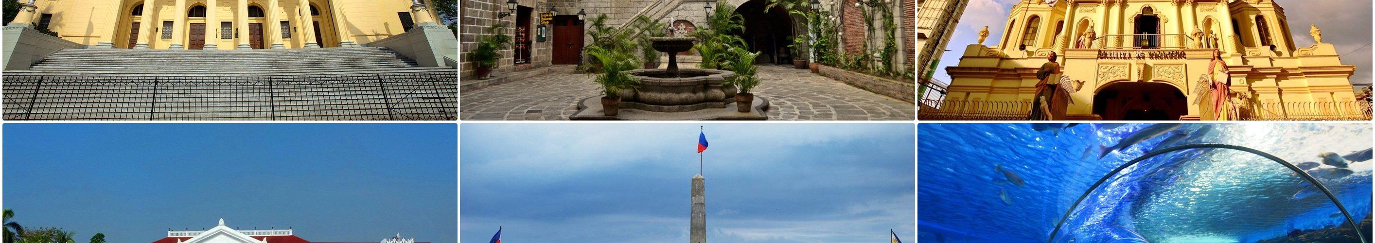 المعالم السياحيه في مانيلا