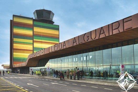 إسبانيا-مطار إليادا ألغوير-أجمل صالات المطارات