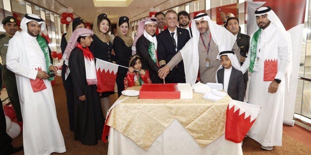 مطارات السعودية تحتفل باليوم الوطني للبحرين