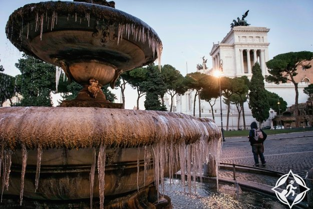 أوروبا-روما-فونتانا دي بيزا-صور الأسبوع