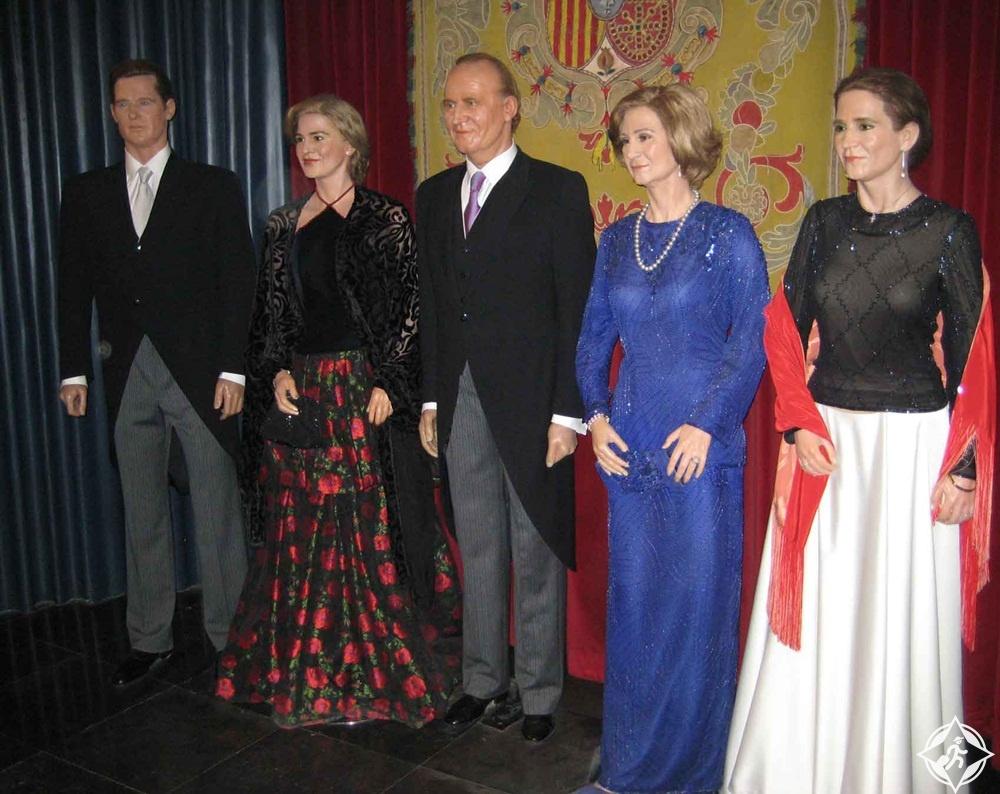 إسبانيا-مدريد-متحف الشمع-السياحة في مدريد للأطفال