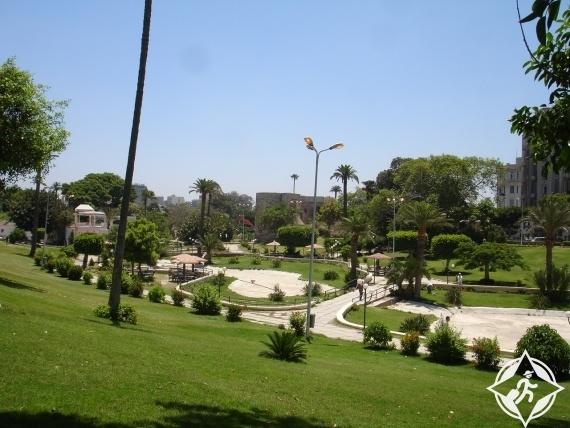 الأردن-حدائق الحسين-أنواع السياحة في الأردن