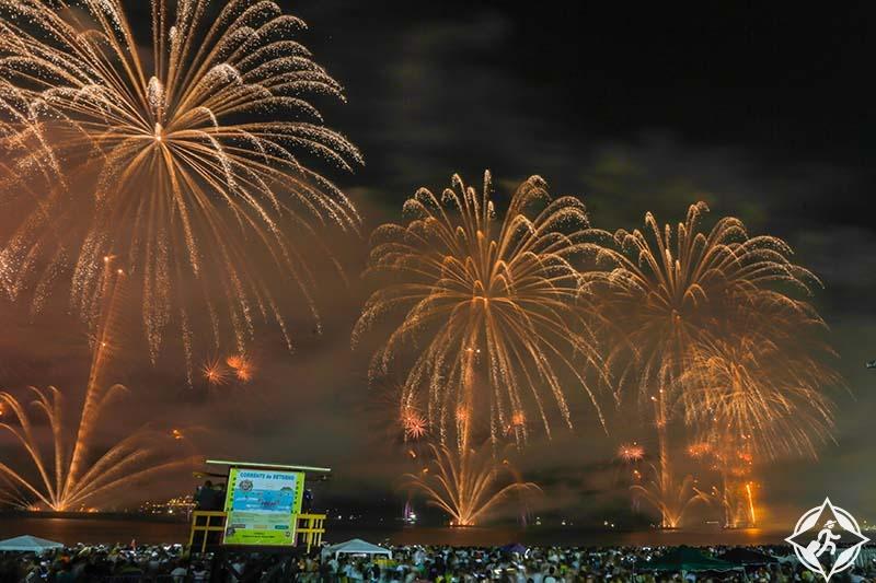احتفالات العام الجديد