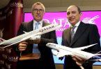 الخطوط الجوية القطرية تستحوذ على 10% من أسهم شركة لاتام للطيران