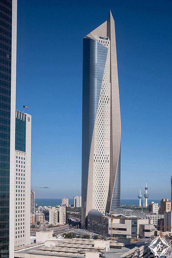 الكويت-مدينة الكويت-برج الحمراء-معالم سياحية في الكويت 2
