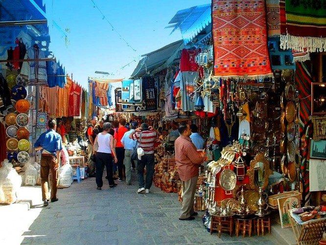 تونس-أماكن التسوق في تونس العاصمة