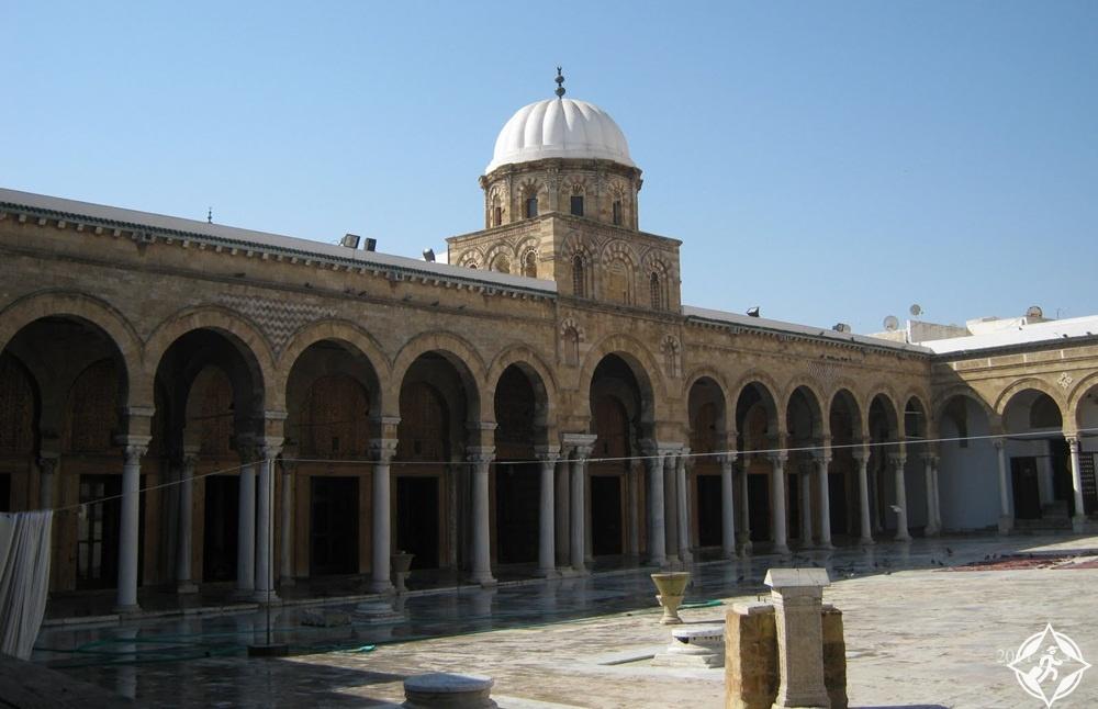 تونس-تونس العاصمة-جامع الزيتونة-أهم معالم تونس العاصمة السياحية 2