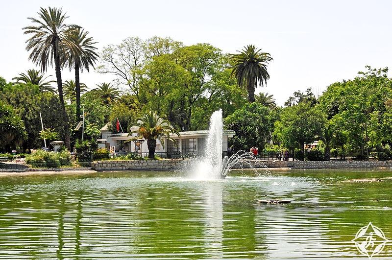 تونس-تونس العاصمة-منتزه البلفيدير-أهم معالم تونس العاصمة السياحية