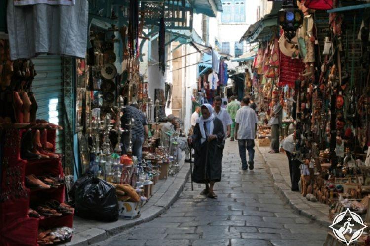 تونس-سوق الباي-أماكن التسوق في تونس العاصمة