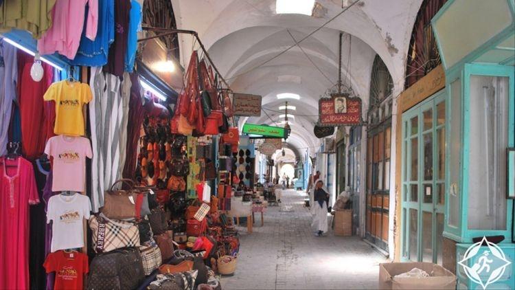 تونس-سوق القماش-أماكن التسوق في تونس العاصمة
