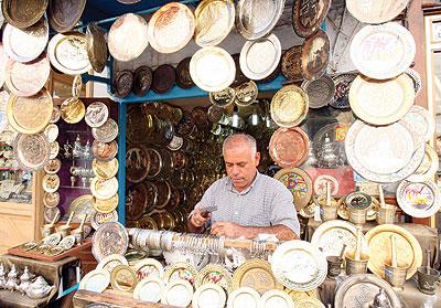 تونس-سوق النحاسين-أماكن التسوق في تونس العاصمة
