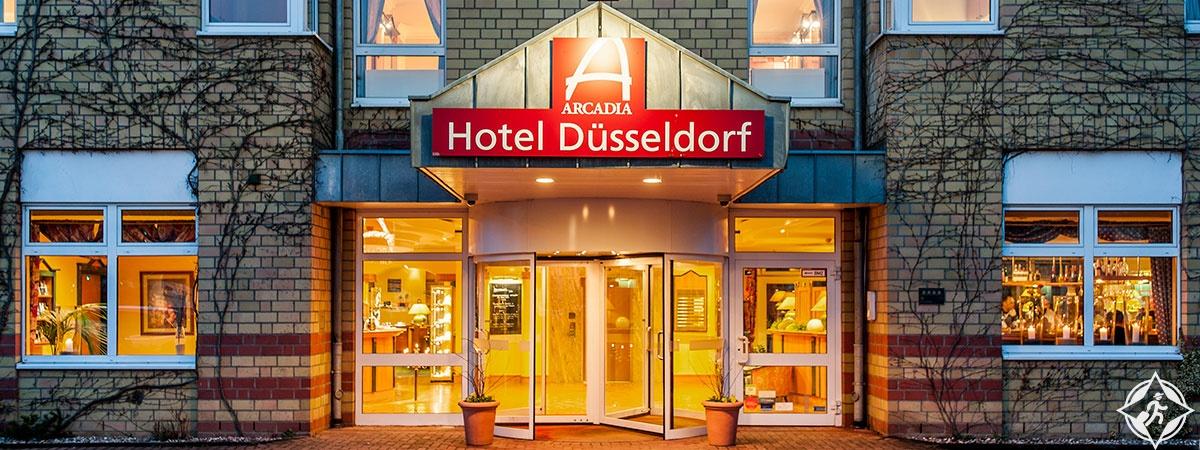 دوسلدورف في الشتاء