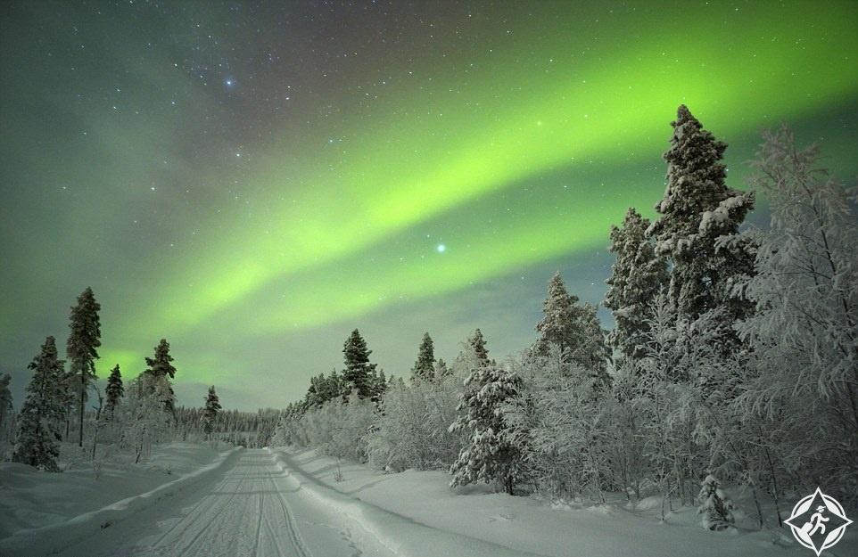 فنلندا-لابلاند-الشفق القطبي-أفضل الوجهات