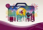 مهرجان السفر الخطوط الجوية القطرية 1