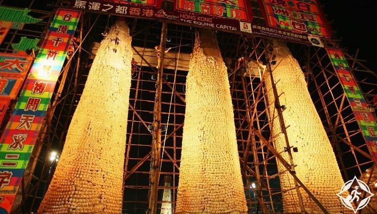هونج كونج- جزيرة تشيونغ تشاو-مهرجان كعكة تشيونغ تشاو-هونج كونج