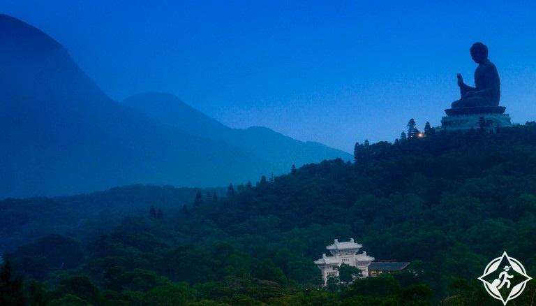 هونج كونج-جزيرة لانتو-بوذا الكبير-هونج كونج