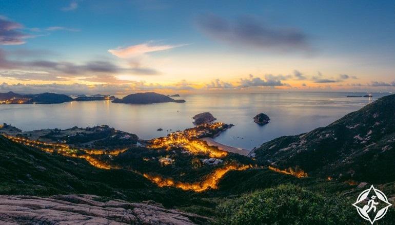 هونج كونج-خليج الموجة الكبيرة-قرية شيك أو-هونج كونج