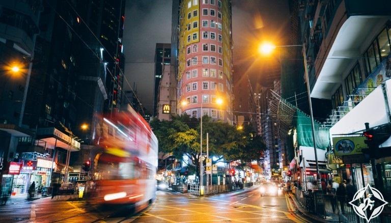 هونج كونج-منطقة الاعمال المركزية-حي وان تشاي-هونج كونج